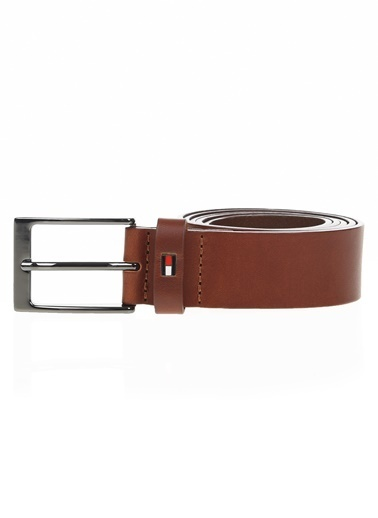 Tommy Hilfiger Erkek Layton Leather Belt Kemer AM0AM05085 Renkli